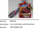 Cars?Cars Cardholder with Neckchain?804119