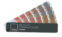 Panton Metallic formula guide + chips 金屬色用色
