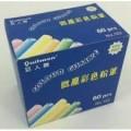彩色粉筆60枝/盒