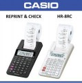 CASIO HR-8RC-WE 迷你出紙計算機(12位) ** New **
