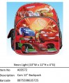 Cars (Neon Light)?12寸 Backpack?A03572
