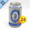 藍妹啤酒 330ml x24罐 #11702