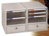 Shuter 樹德 A4103K 座檯櫃桶文件櫃 米色