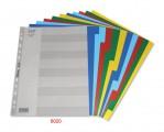 BANTEX 6020 A4 maxi 膠質顏色索引分類(10級)