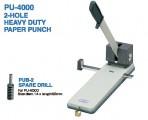 日本 OPEN PU-4000 雙孔重型打孔機 (200張64gsm)