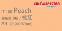 Sinar Spectra A4 80g 顏色影印紙 / 桃紅 / 150
