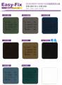 Easy-Fix 玻璃隔熱濾光膜 Code:A12 (3' x 5') 綠銀