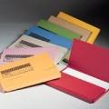 Eastlight F4 依時利紙文件袋 / 紅色