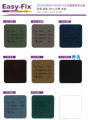 Easy-Fix 玻璃隔熱濾光膜 Code:A02 (3' x 5') 銀銀