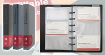 DATA BANK QNC-120 3格活頁咭片簿(120張)