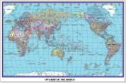 卷裝世界地圖 3x4'
