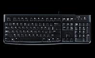 Logitech K120 有線鍵盤(有倉頡碼)