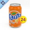 芬達橙汁 330ml x24罐 #11106