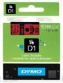 Dymo D1 帶模帶 5000&1000 用12mm X 7m - 45017