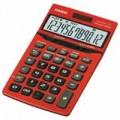 Casio 計數機 (紅色)12位數 JF-200TV