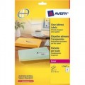 Avery 鐳射標籤貼 -L7560 (63.5mm x 38.1mm)透明 / 10