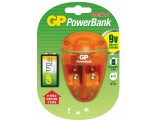 GP 9V 充電寶運9V 1700mAh 1粒充電池-PB09