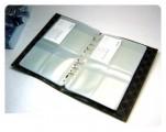 Keny高級活頁咭片簿 7寸 x 10寸 / 6格 - 灰色