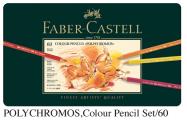 FABER 110060 專業級60色木顏色(鐵盒裝)