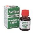 Artline 雅麗牌 ESK-20 箱頭水墨水 20ml / 紅色