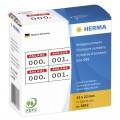 Herma  A4 電腦噴墨標籤貼 -4832 (61mm x 297mm)3寸Fil