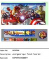 Avengers?5 pcs Pencil Case Set?805266