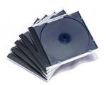 2隻裝透明CD光碟盒