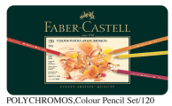 FABER 110011 專業級120色木顏色(鐵盒裝)