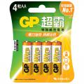 GP AA 鹼性電池 / 4粒裝