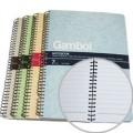 Gambol S6807 7寸 x 10寸B5 左鐵筆記簿 / 80頁