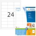 Herma  A4 電腦噴墨標籤貼 -4827 (147.3mm x 20mm)錄