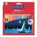 STAEDTLER LUNA 137 24色長帆水溶彩色筆