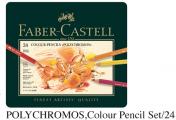FABER 110024 專業級24色木顏色(鐵盒裝)