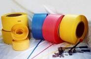 3分 x 850m 電動尼龍打包帶/17磅/黃色