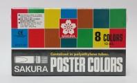 日本櫻花牌 SAKURA POCT-8P 廣告彩(8色紙盒裝)