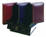 NCL 100張裝淨色充皮面相簿 - 5R