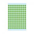 Herma 圓型標籤貼 1845 (540pcs) / 8mm die / 綠色