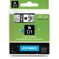 Dymo D1 帶模帶 5000&1000 用12mm X 7m - 45010