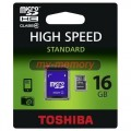 Toshiba Micro SDHC CL4 記憶咭 16GB