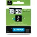 Dymo D1 帶模帶 5000&1000 用12mm X 7m - 45013