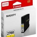 Canon  打印機噴墨盒 PGI-2700Y Yellow