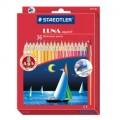 STAEDTLER LUNA 137 36色長帆水溶彩色筆