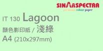 Sinar Spectra A4 80g 顏色影印紙 / 淺綠 / 130