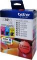 Brother 打印機噴墨盒 LC161CL 3PK