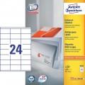 Z-Weckform 噴墨/鐳射/影印防水標籤貼 -3422 (70mm x