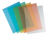 0.4mm A4透明顏色釘裝膠片