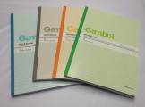 GAMBOL WCN-G4807 A4 單行簿(80頁)