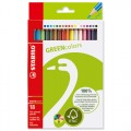 STABILO 6019/2-18 GREEN 環保系列木顏色筆(18色)