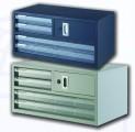 GLOBE K4 A3金屬層桌上文件櫃(2S+2A3+有鎖儲物層)