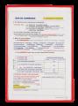 Tarifold 134509 A4 PVC 文件袋(5個裝)雜色